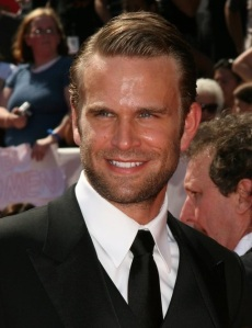 Actor John Brotherton on the red carpet at the Daytime Entertainment Emmy Awards. Photo credit: Contactmusic.com