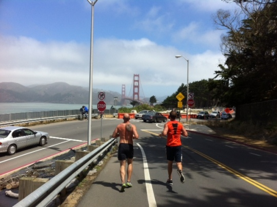 Never underestimate the power of good running buddies!