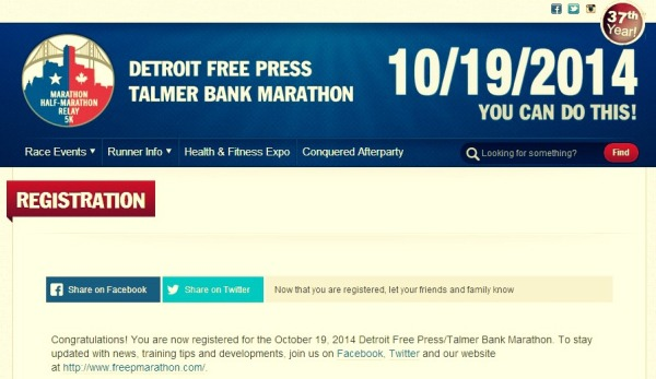 DTW Marathon Registration2