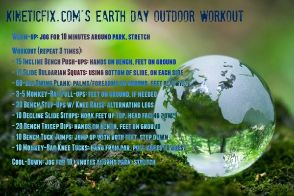 Earth Day Workout