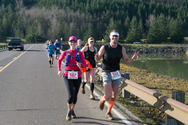 """2015 Hagg Lake Mud Runs Ultra 25k"""