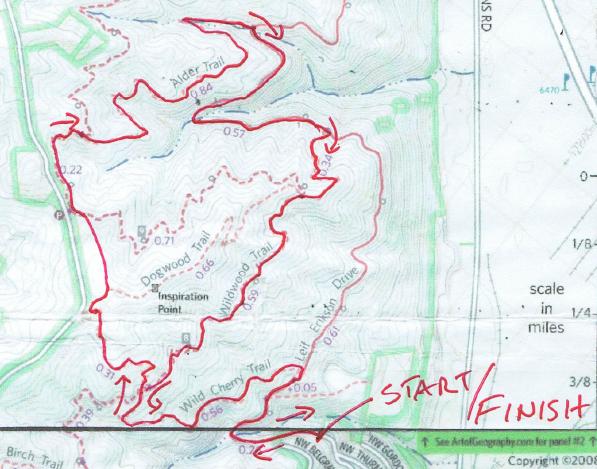 Portland Trail Series Race3
