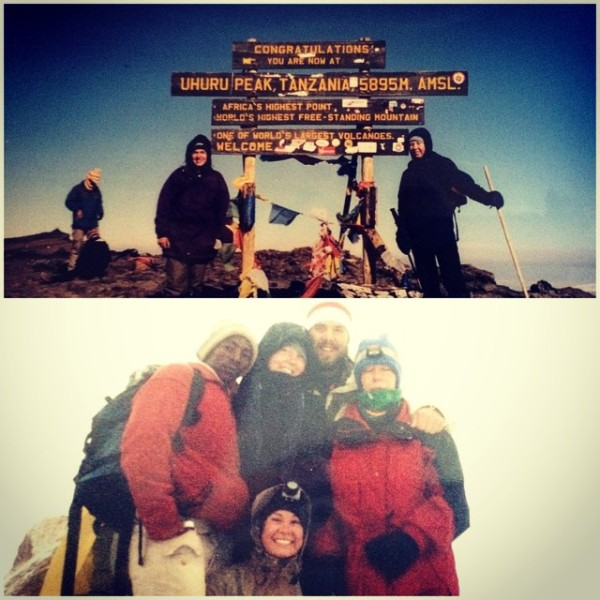 Fun fact: Sharlene has climbed Mt. Kilimanjaro and Mt. Kenya!