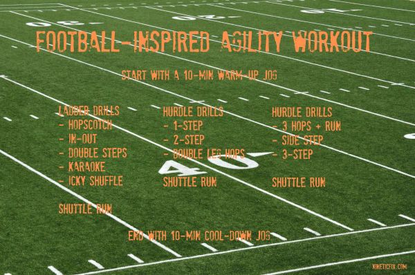 footballfield_agility drills workout