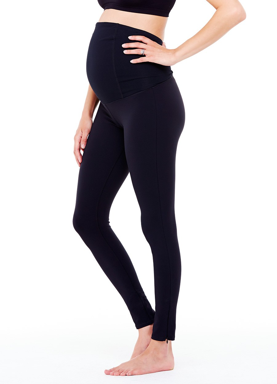 c885e33d5f3f3e ... attire has been Ingrid & Isabel's Active Legging with Crossover Panel,  which was recommended by another pregnant friend; these pants are beyond  comfy ...