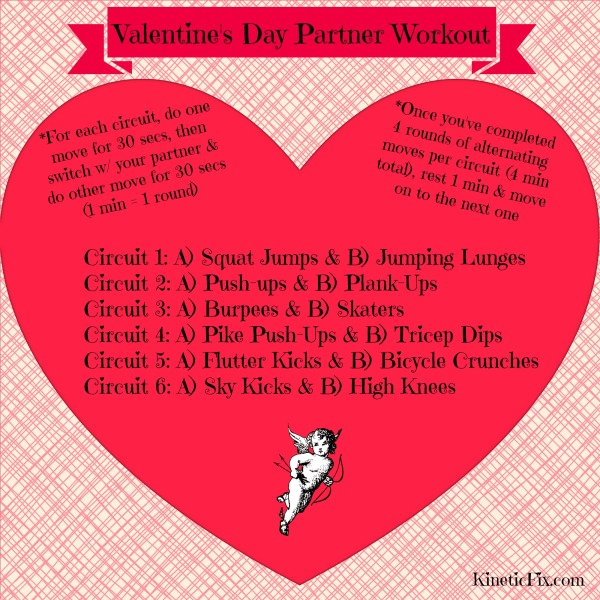 Valentine's Partner Workout